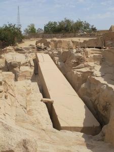 Der unvollendete Obelisk, Assuan