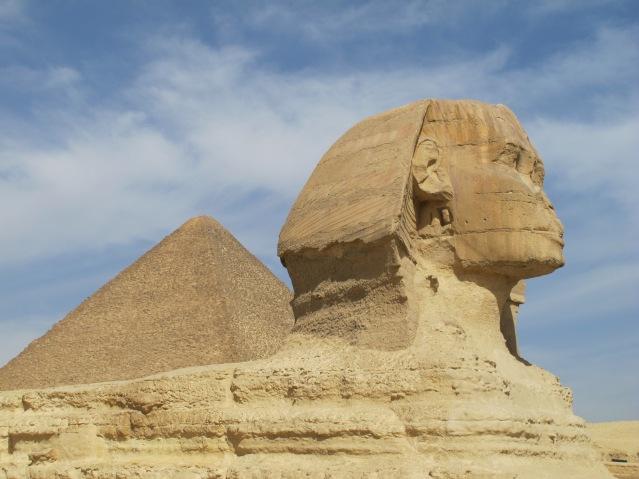 Pyramide+Sphinx, Ägypten