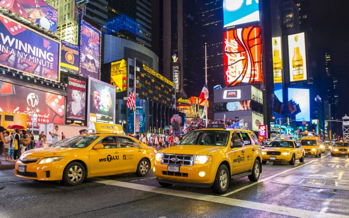 New York - Times Square Quelle: Shutterstock