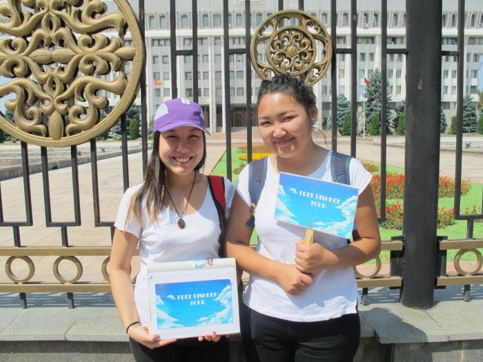 Free Bishkek Tour Free Walking Tour Bishkek Stadtrundgang Stadtführung geführte Tour
