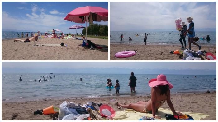 IssykKul Kirgistan baden Zentralasien Reise Reiseblog